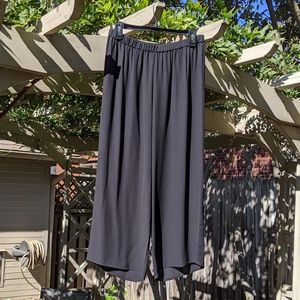 Eileen Fisher silk wide leg pants NWOT Size MP